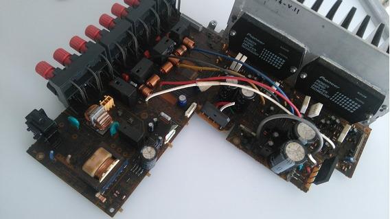 Placa Amplificador Receiver Pioneer Vsx-d814 No Estado
