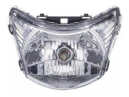 Bloco Optico Farol Honda Biz 125cc 2011/2016 Biz 100cc 2012