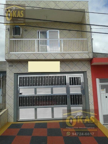 Imagem 1 de 22 de Sobrado Com 4 Dormitórios À Venda, 125 M² Por R$ 390.000,00 - Parque Alvorada - Suzano/sp - So0047