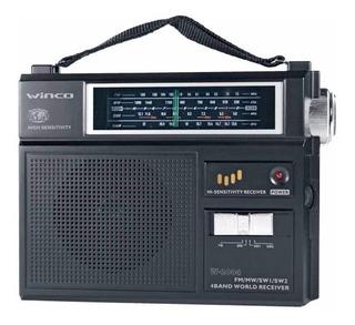 Radio Winco Dual Am-fm De 4 Bandas W-2004