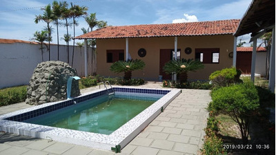 Casa Com 2 Dormitórios À Venda, 120 M² Por R$ 250.000 - Loteamento Colinas De Pitimbú Em Praia Bela - Pitimbú/pb - Ca0551