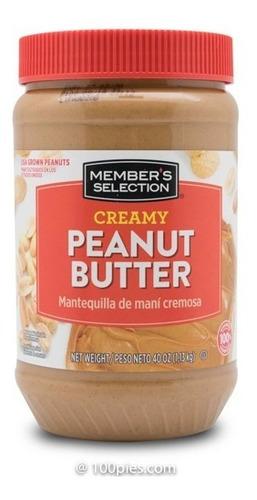 Imagen 1 de 1 de Mantequilla Mani Peanut Butter Member´s Selection - 1.13 Kg