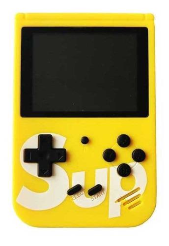 Imagen 1 de 2 de Consola Retro Portátil (amarilla Y Blanca)