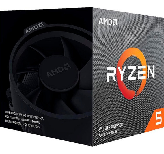 Micro Procesador Amd 3gen Ryzen 5 3600x 4.4 Ghz Am4