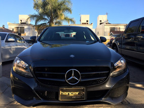 Mercedes Benz Clase C 1.6 180 Cgi At 2015 Gris Hangar