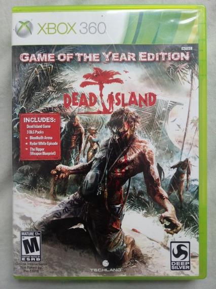 Jogo Dead Island Para Xbox 360