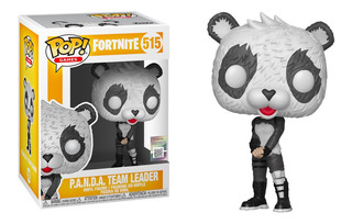 Figura Funko Pop Games Fortnite S3- Panda Team Leader 515
