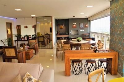 Apartamento De 4 Suítes De Luxo Em Goiânia, Setor Marista, Park Line - Os38 - 33403330