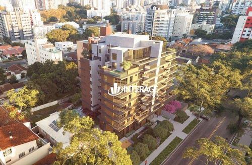 Imagem 1 de 20 de Apartamento Garden Com 3 Dormitórios À Venda, 132 M² Por R$ 2.862.054 - Ahú - Curitiba/pr - Gd0020