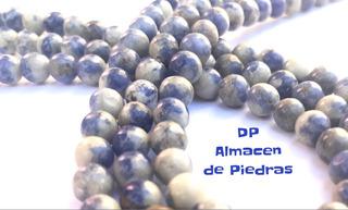 Perlas De Piedra Natural Sodalita 8mm
