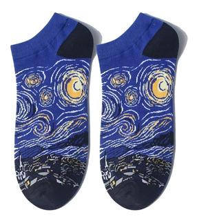 Calcetines Cortos Tines Obras De Arte Van Gogh