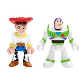 Bonecos Basicos - Imaginext - Toy Sotry - Jessie E Buzz Ligh