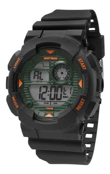Relógio Masculino Mormaii Mo3415/8v Preto