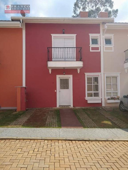 Casa Com 3 Dormitórios Para Alugar, 108 M² Por R$ 2.400/mês - Condomínio Dossel Esplanada Village - Valinhos/sp - Ca0681