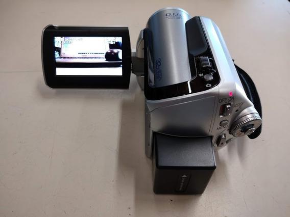 Câmera Panasonic Sdr-h20, Carregador, Bateria, Japan, Veja