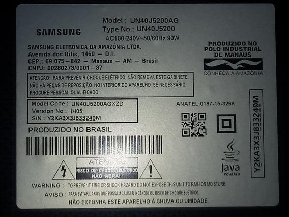 Tv Samsung 40 Polegadas Smart Tv Com Tela Quebrada