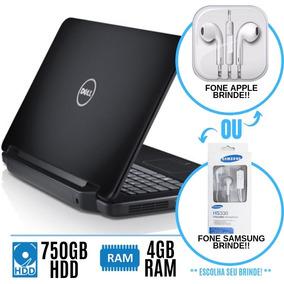 Notebook Dell Inspiron I5 4gb 750gb