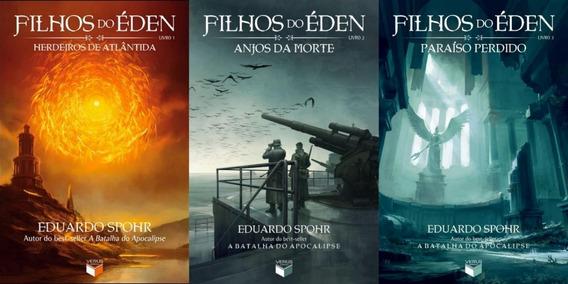 Coleção Filhos Do Éden Volumes 1 2 E 3