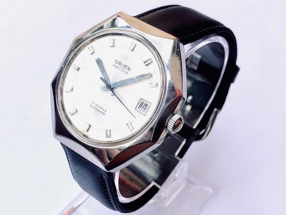 Relógio De Pulso Suíço Grife Gruen Precision Automático 1960