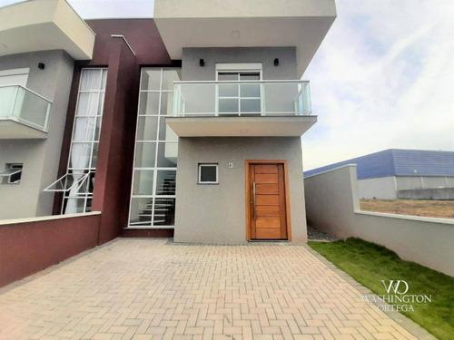 Sobrado Com 3 Dormitórios À Venda, 135 M² Por R$ 670.950,00 - Costeira - São José Dos Pinhais/pr - So0213