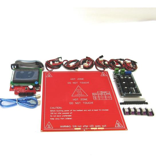 Kit S/ Arduíno Rps 1.6 Extrusora Hot End Impressora 3d