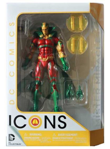 Dc Collectibles Dc Icons Mister Miracle Earth 2