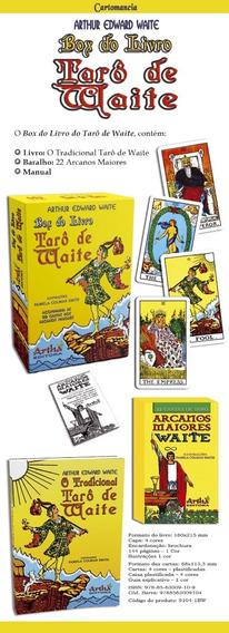 Box Do Livro Tarô De Waite ( Livro Waite + Arcanos Waite)