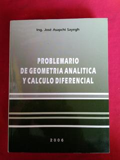 Problemario De Geometria Analitica Y Calculo Diferencial