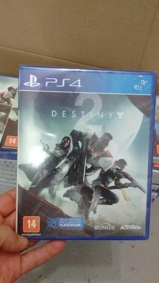 Destiny 2 Ps4 Mídia Física Lacrado Em Português