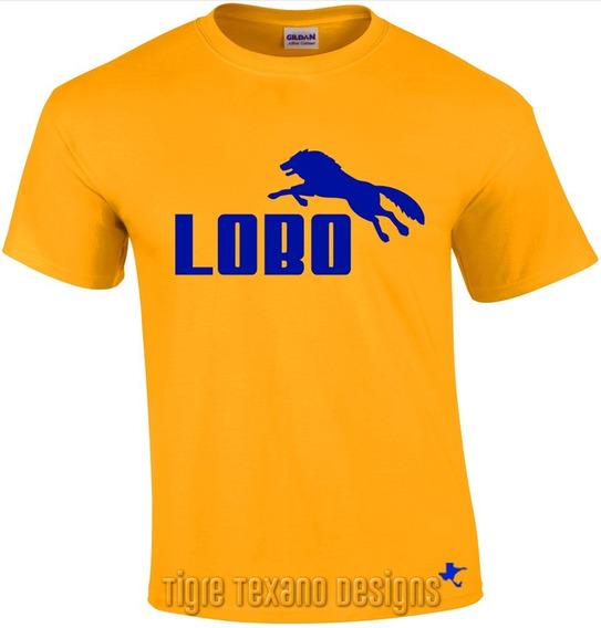 Playera Logo Lobo, Fun, Divertida By Tigre Texano Designs