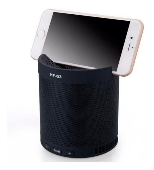 Caixa Som Caixinha Bluetooth Dock Radio Fm Potente Usb Mp3