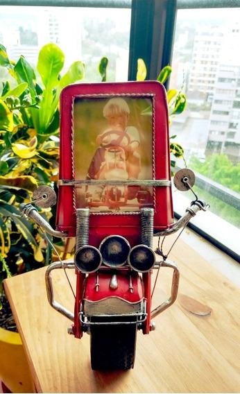 Porta-retrato Frente De Moto Vintage Porto Alegre