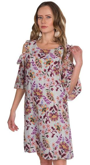 Vestidos Casuales Mujer Midi Moda Floreados Primavera S91109
