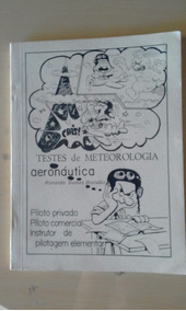 Livro Testes De Meteorologia Aeronáutica - Ronaldo Gomes B.