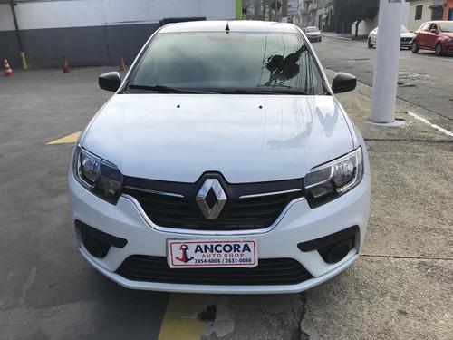 Imagem 1 de 11 de Renault Logan 2020 1.0 Life 12v 4p