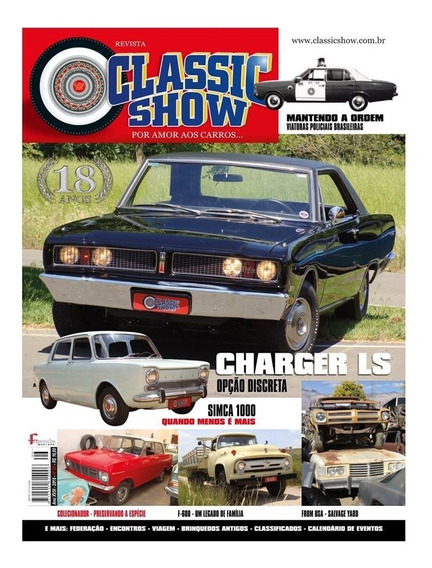 Classic Show Nº96 Dodge Charger Ls Simca 1000 Ford F-600