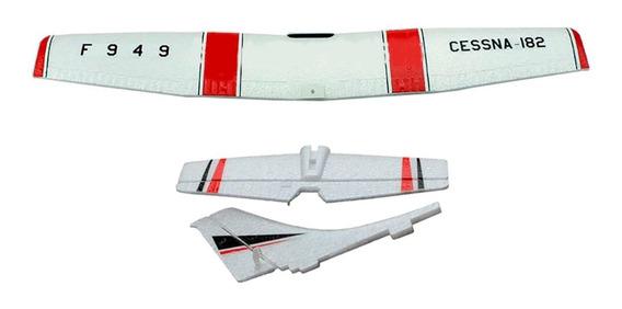 Set Repuestos De Ala Y Cola Completos Avion Rc Wltoys F949