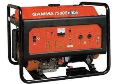 Grupo Electrógeno Gamma 7500 Elite Generador 7000w Ge3462ar