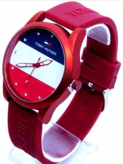 Relógio Tomy Vermelho Femino Barato