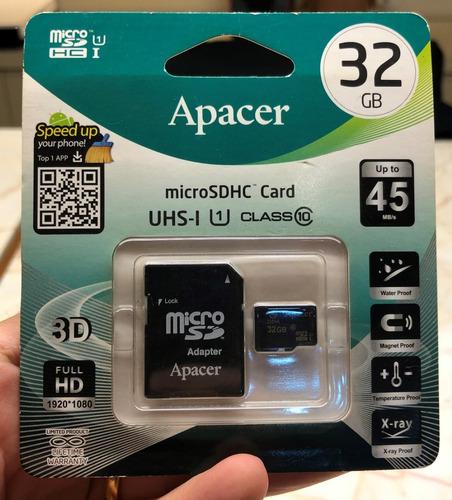 Cartão De Memória Micro Sd Hc - 32 Gb - Apacer