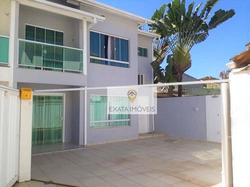 Imagem 1 de 22 de Casa Duplex 4 Quartos, Jardim Marilea/ Rio Das Ostras! - Ca1194