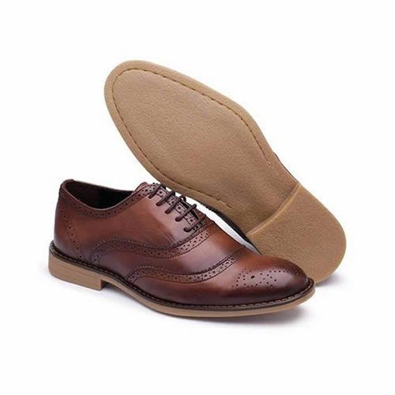 Sapato Social Masculino Couro !