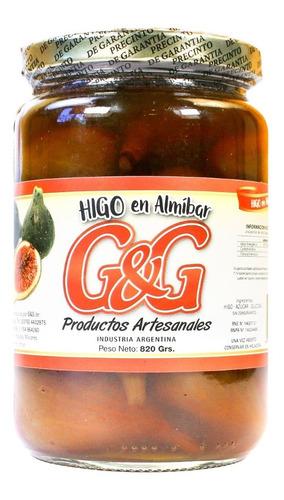 Higos En Almíbar G&g X820g