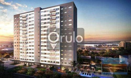Apartamento Novo Com 3 Dormitórios À Venda, 76 M² Por R$ 737.346 - Navegantes - Porto Alegre/rs - Ap1601