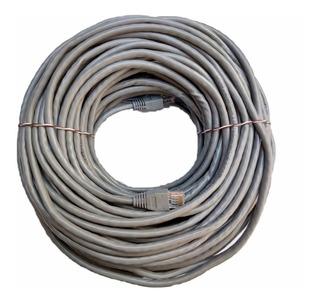 Cable Red 10 Metros Categoría Cat 6 Utp Rj45 Ethernet Gris