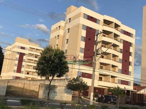 Apartamento Com 2 Dormitórios À Venda, 63 M² Por R$ 255.000 - Vila Antônio Augusto Luiz - Caçapava/sp - Ap4670