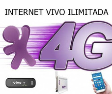 Internet Ilimitada Vivo 4g