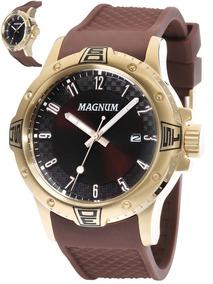 Relógio De Pulso Oversized Ma34414r Relógio Magnum Original