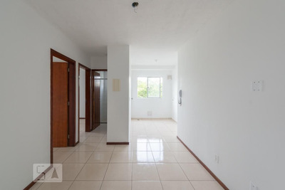 Apartamento No 2º Andar Com 2 Dormitórios E 1 Garagem - Id: 892914392 - 214392