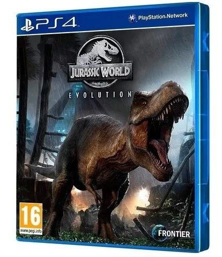 Jogo Jurassic World Evolution Ps4 Midia Fisica Frete Gratis